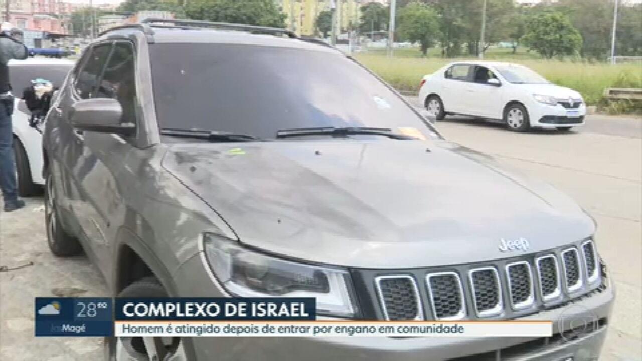 Homem é baleado ao seguir aplicativo e entrar por engano em comunidade na Avenida Brasil