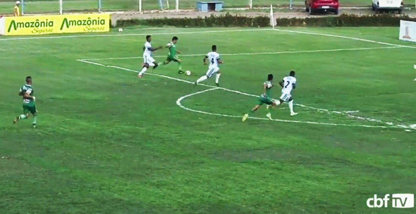Os gols de Sinop 1 x 2 Altos pela oitava rodada da Série D do Brasileiro