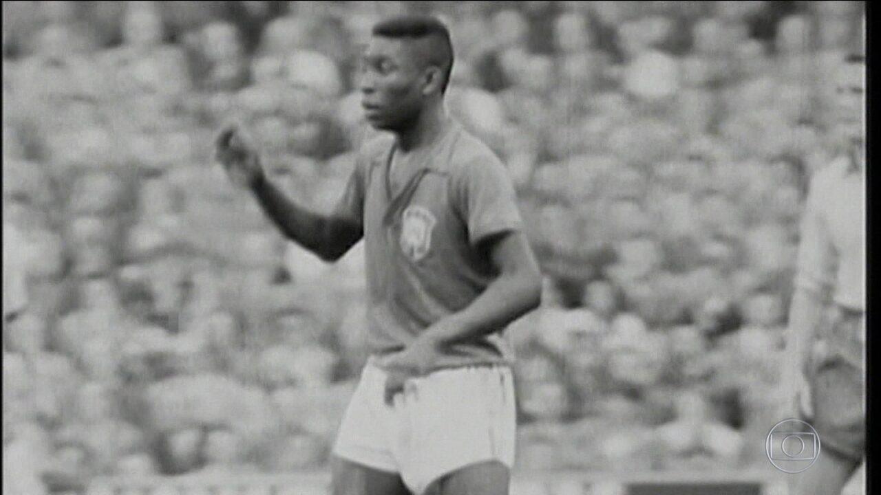 """Pelé, """"tesouro nacional"""": o dia em que Jânio Quadros quis proibir o Rei de deixar o Brasil"""