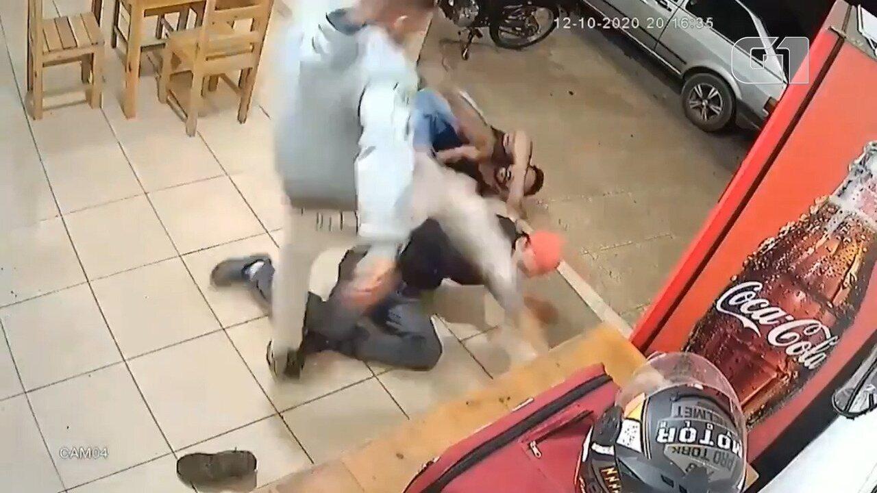 Motoboy reage a ameaça de suspeito de tentativa de homicídio em Ouro Branco