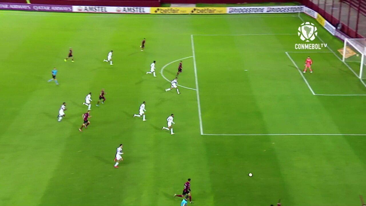 Melhores momentos: Lanús 3 x 2 São Paulo pela Copa Sul-Americana