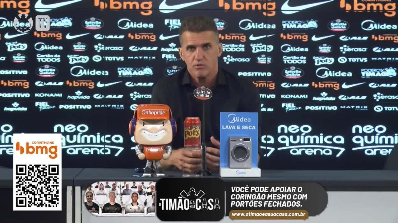 Veja a entrevista de Vagner Mancini, técnico do Corinthians, após derrota para América-MG
