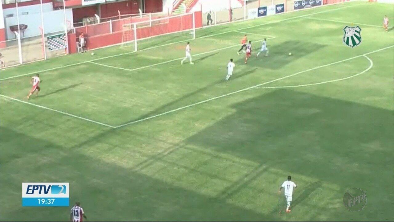 Caldense fica no 1 a 1 contra o Villa Nova e mantém posição no G-4 da Série D