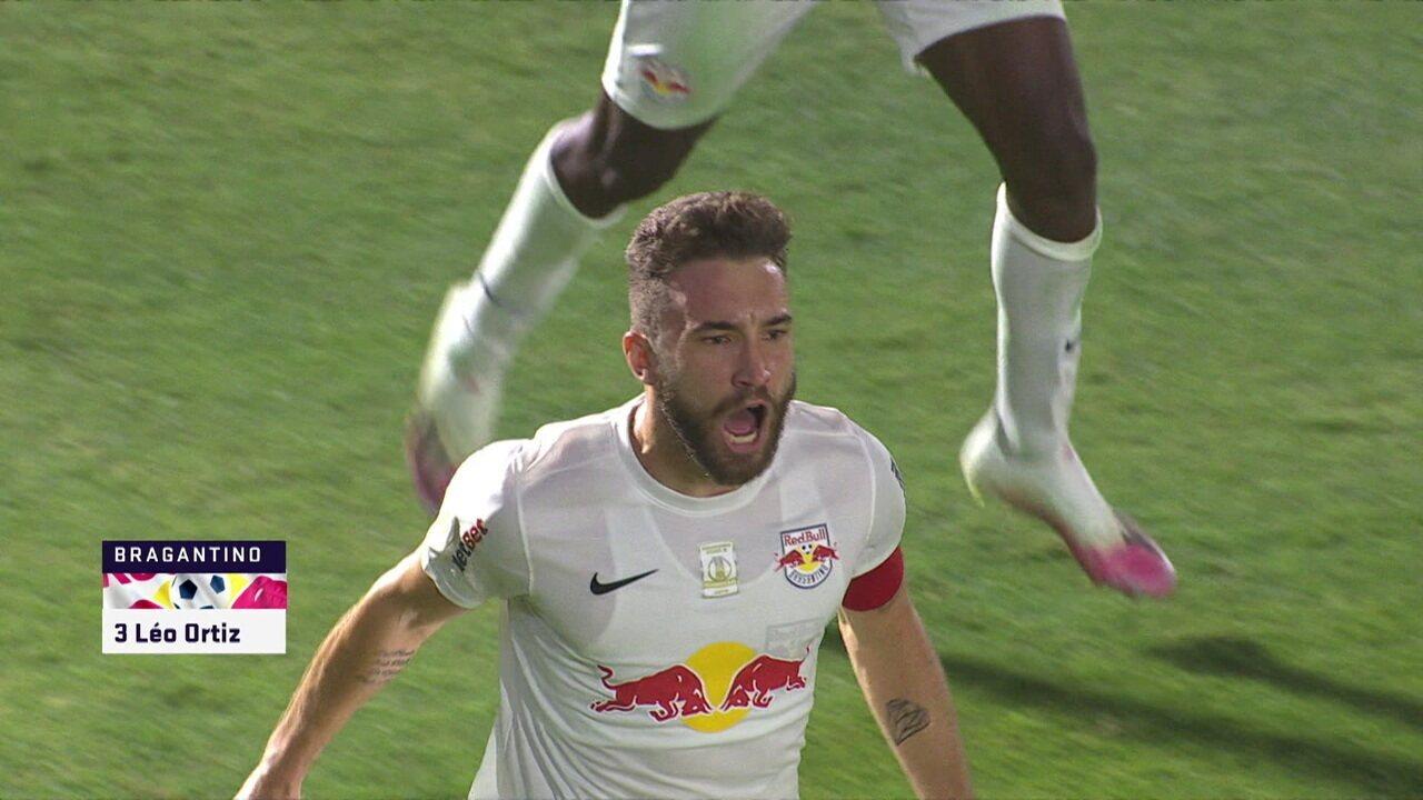 Veja o gol de Léo Ortiz para o Bragantino