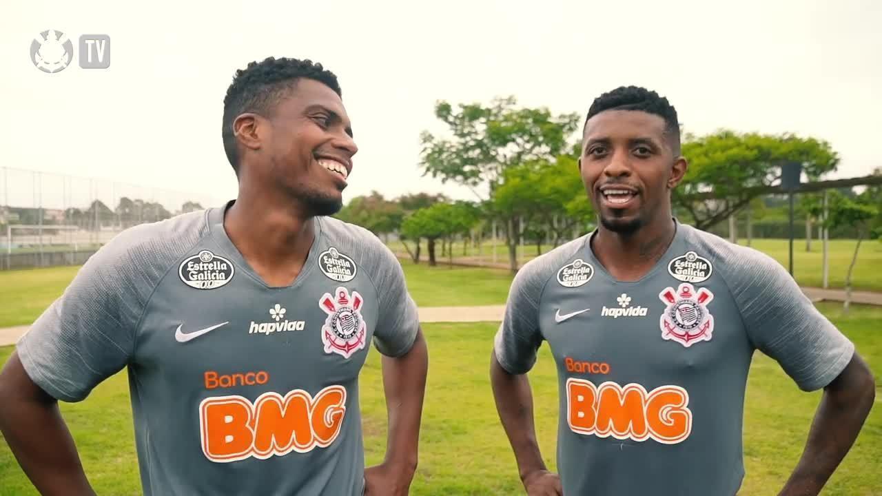 Jemerson e Jonathan Cafú chegam ao Corinthians