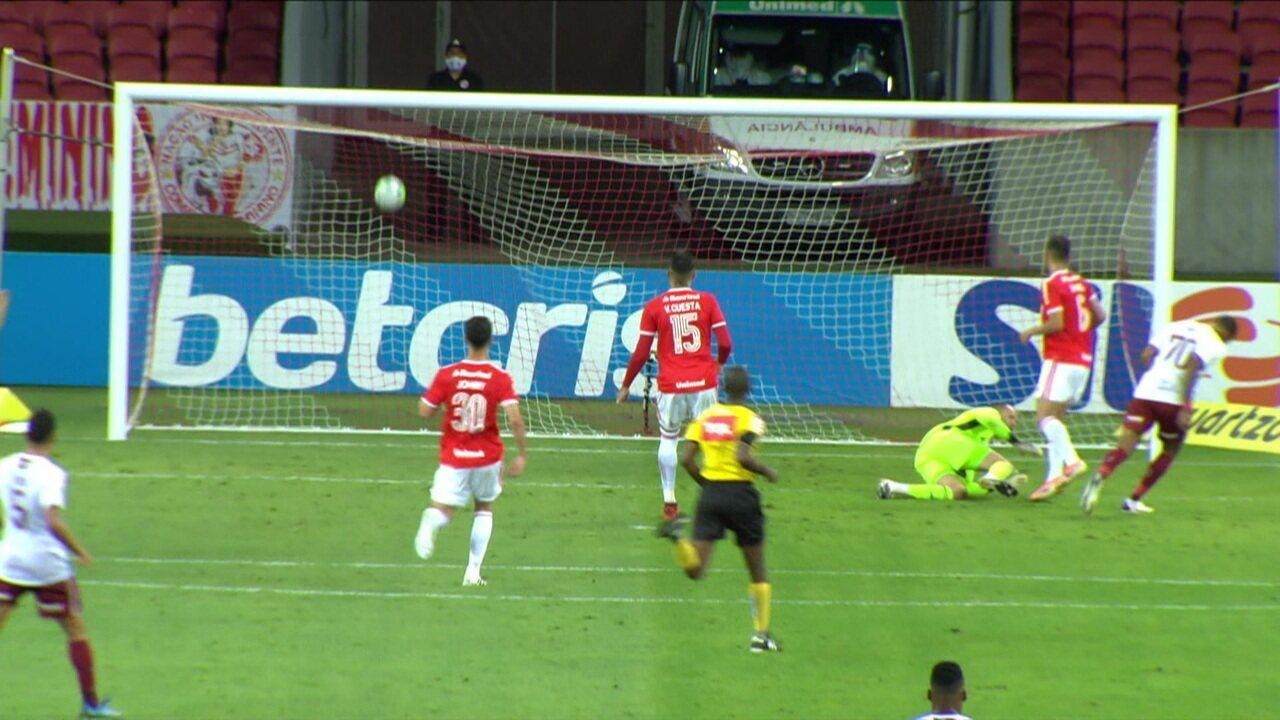 Melhores momentos: Internacional 1 x 2 Fluminense pela 22ª rodada do Campeonato Brasileiro
