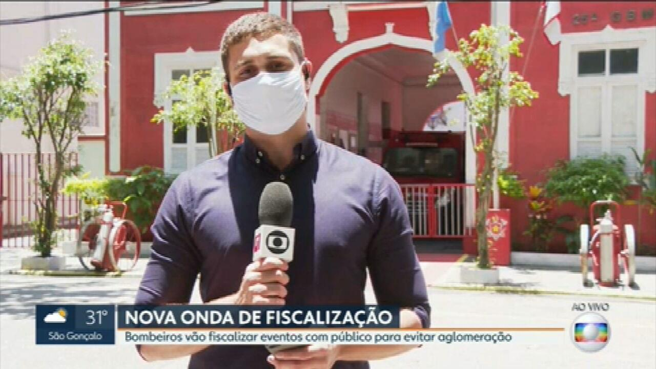 Covid-19: Corpo de Bombeiros vai fiscalizar boates e casas de show