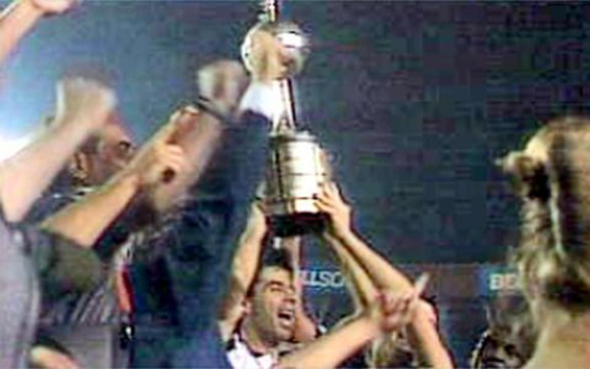 Em 1998, Vasco é campeão da Libertadores