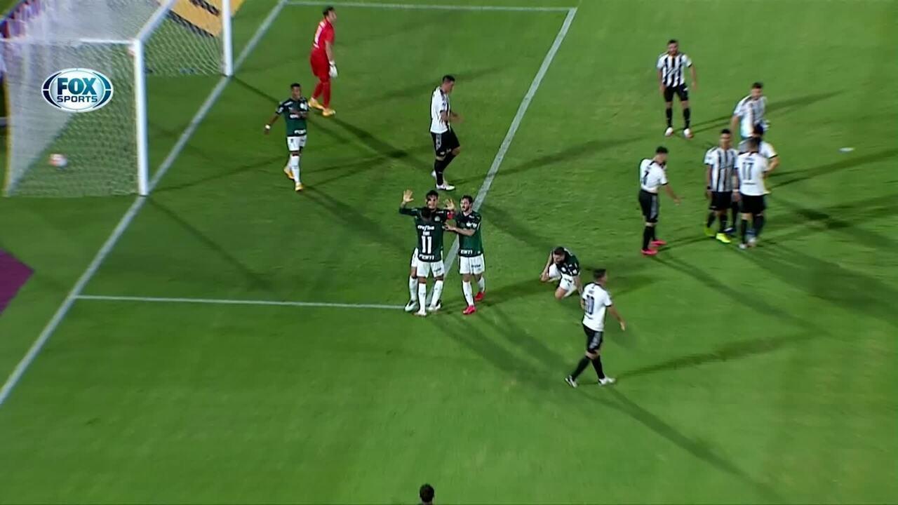 Os gols de Libertad-PAR 1 x 1 Palmeiras pelas oitavas de final da Libertadores
