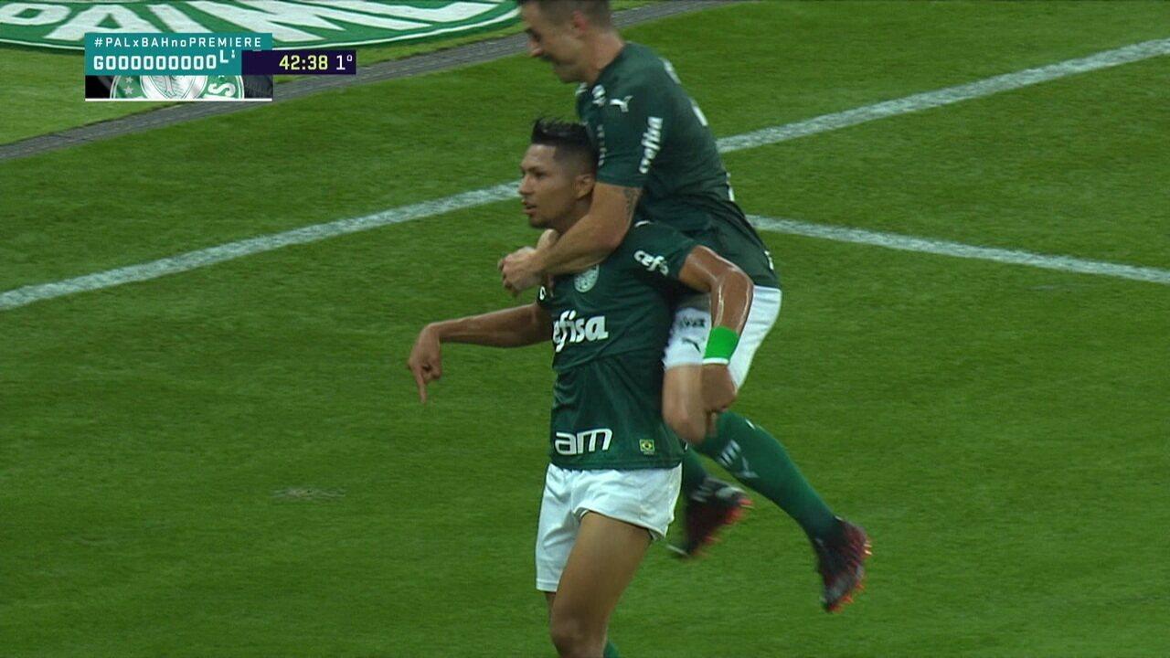 Veja gol de Rony pelo Palmeiras