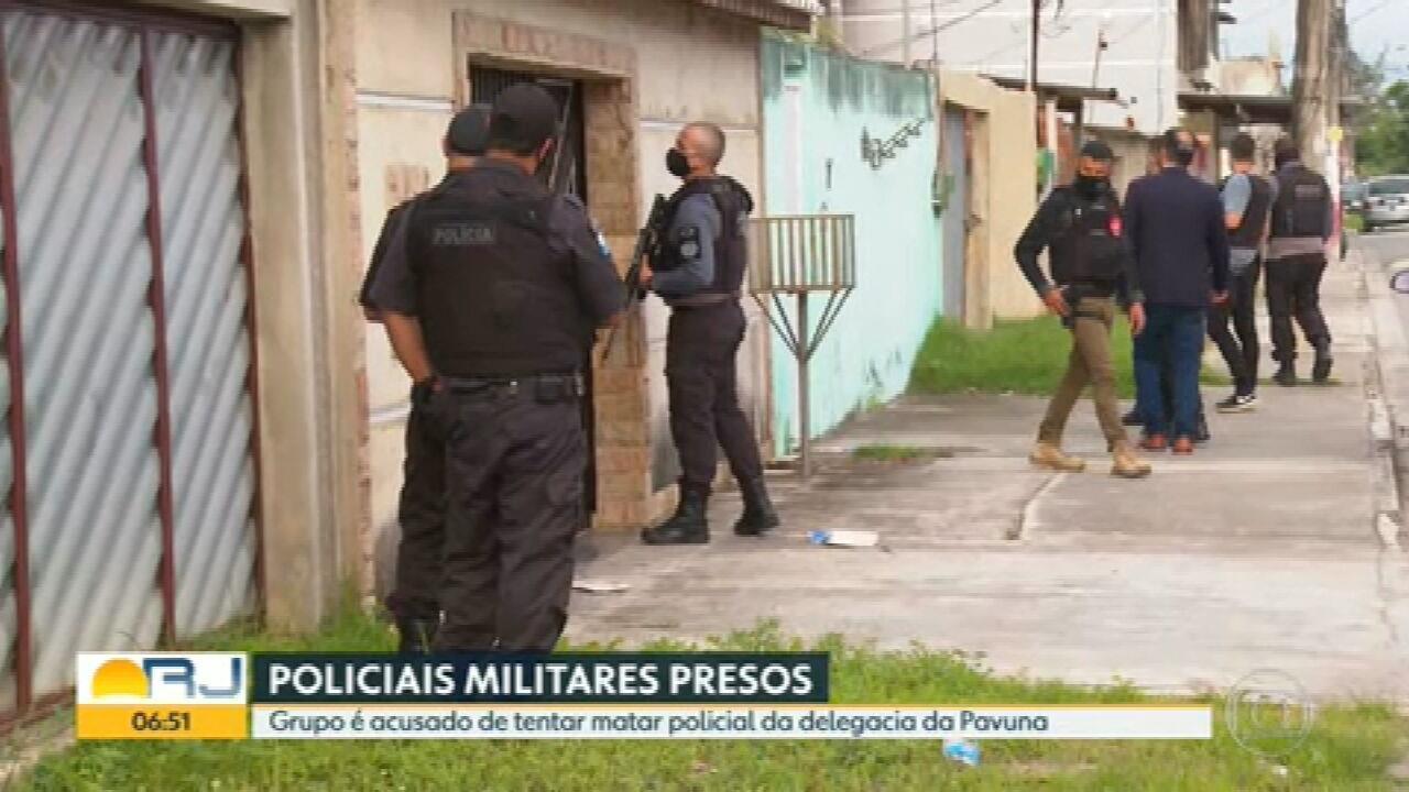 Operação prende 5 PMs suspeitos de tentar matar inspetor da Polícia Civil