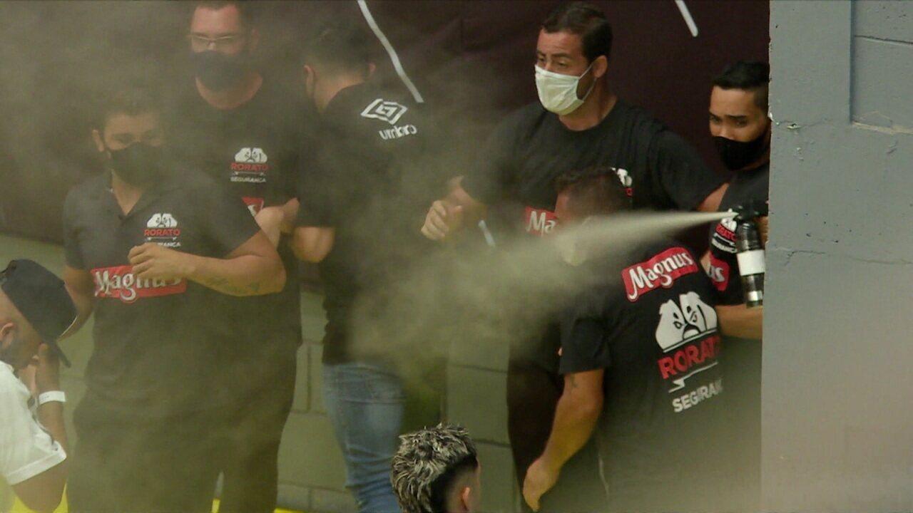 Confusão com spray de pimenta na final da Liga Nacional de Futsal