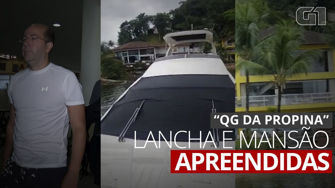Rafael Alves tem mansão e lancha apreendidas em operação que prendeu Crivella