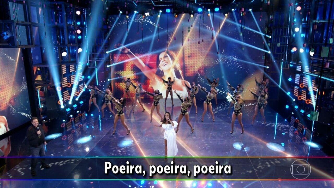 Ivete canta 'Sorte Grande'