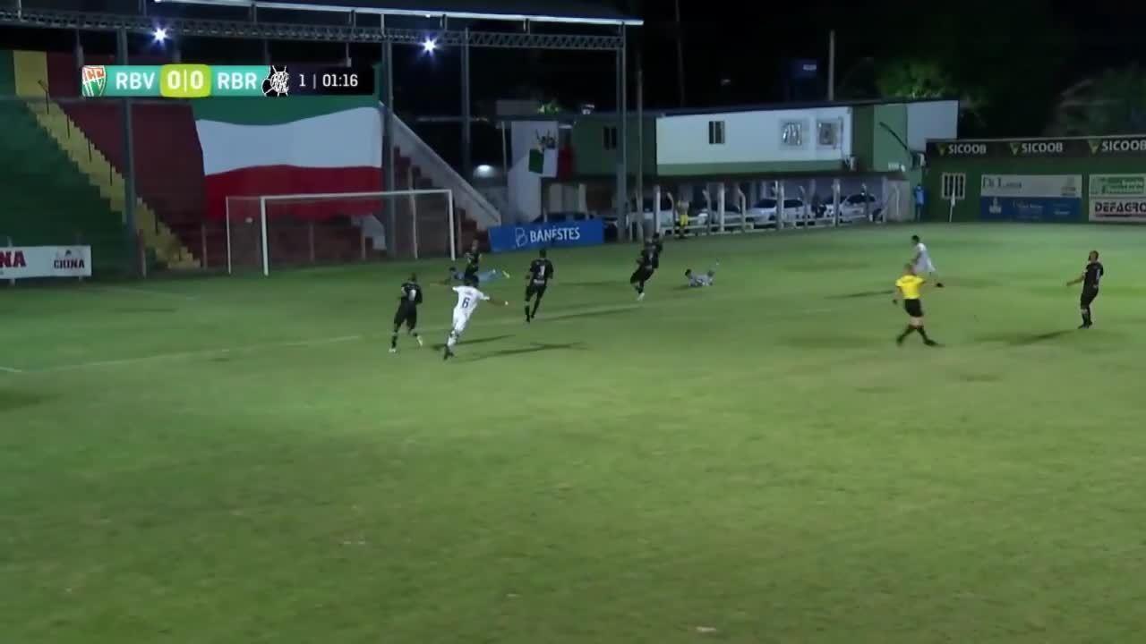 O gol de Rio Branco VN 1 x 0 Rio Branco-ES, pelo Campeonato Capixaba 2020