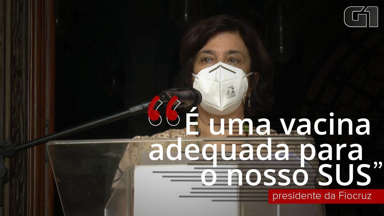 'Estamos com a esperança reanimada com a notícia do registro da vacina AstraZeneca', diz presidente da Fiocruz
