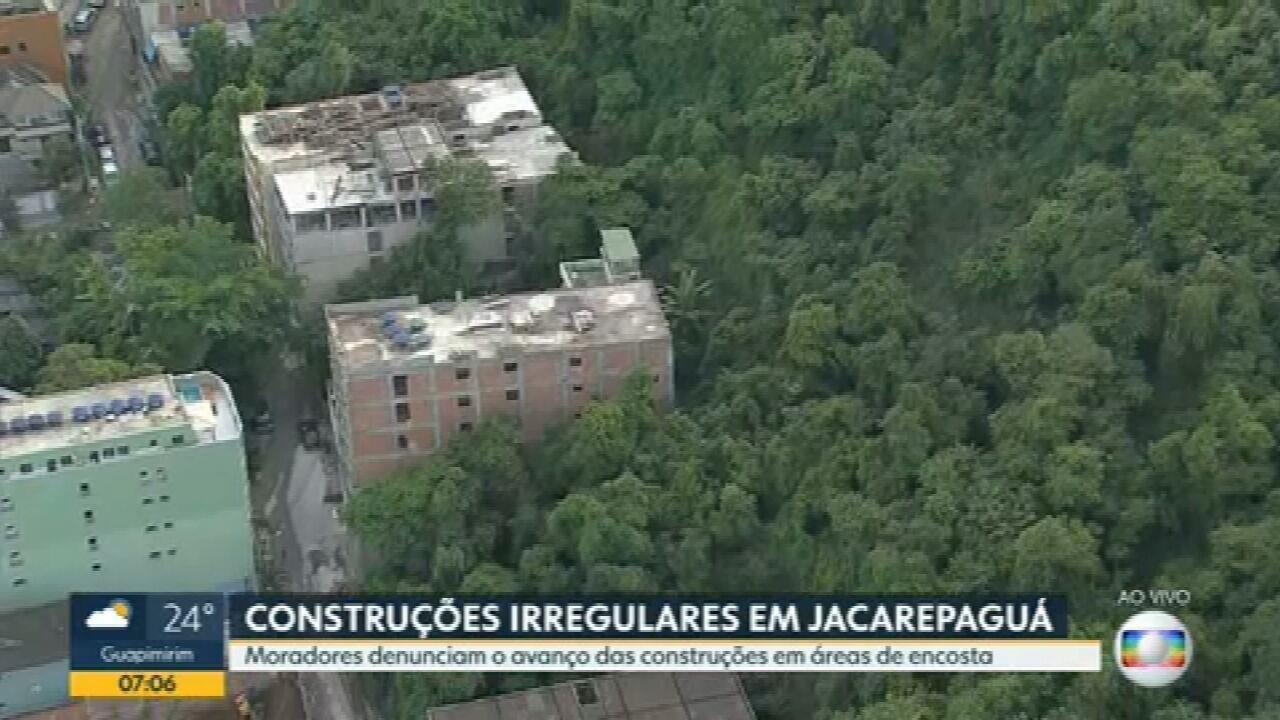 Moradores denunciam novas construções irregulares em Jacarepaguá