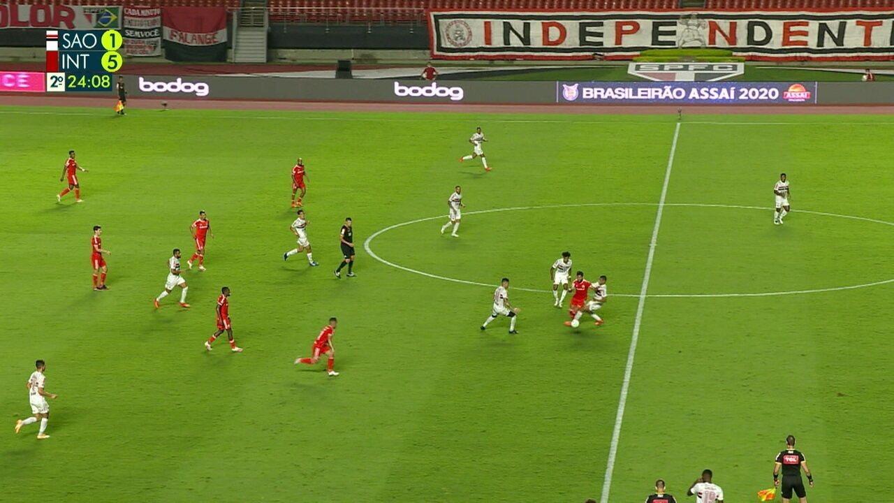 Melhores momentos: São Paulo 1 x 5 Internacional, pela 31º rodada do Brasileirão