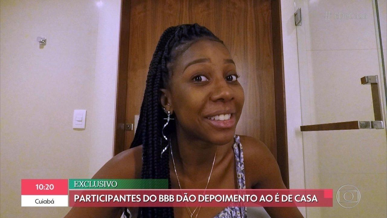 Participantes do BBB revelam momentos 'Camarote' e 'Pipoca' que já viveram