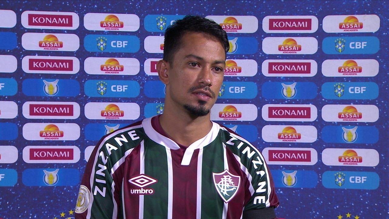 Autor de um dos gols, Lucca fala sobre vitória do Fluminense, substituição e lamenta morte do presidente do Palmas