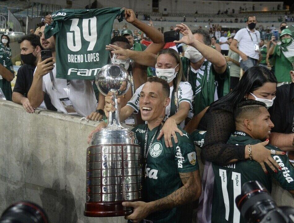 Da Série B à conquista da Libertadores: Veja gols de Breno Lopes em 2020