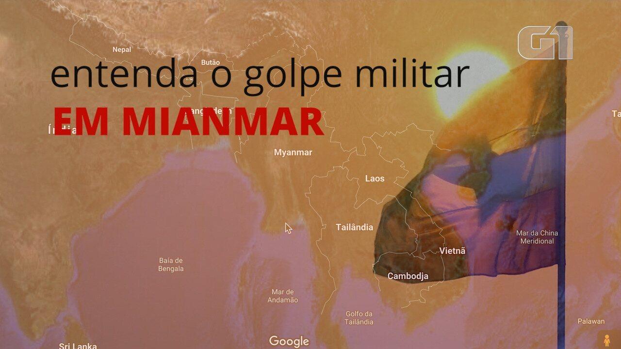 VÍDEO: Militares tomam o poder em Mianmar e lideranças são presas