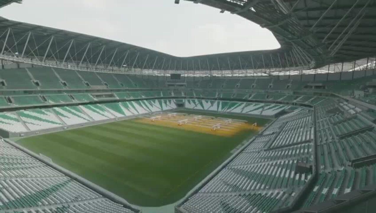 Veja detalhes do estádio verde e branco onde o Palmeiras jogará no Mundial
