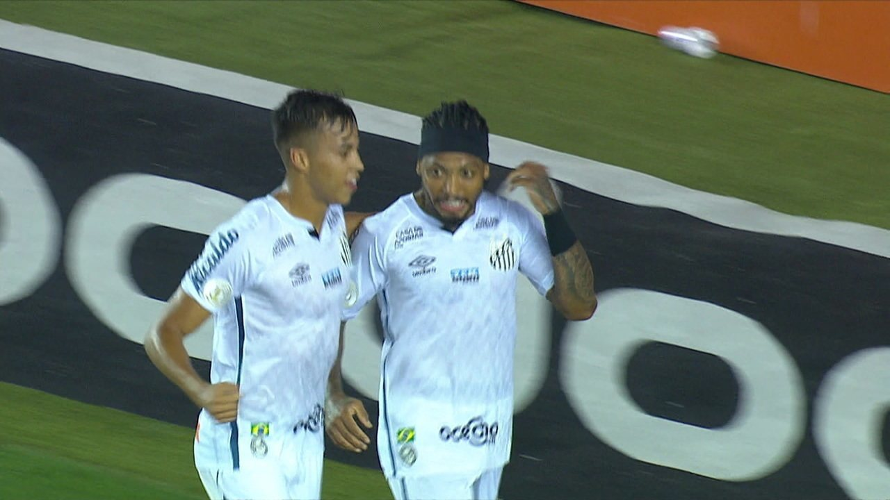 Melhores momentos: Santos 2 x 0 Coritiba pela 36ª rodada do Brasileirão 2020