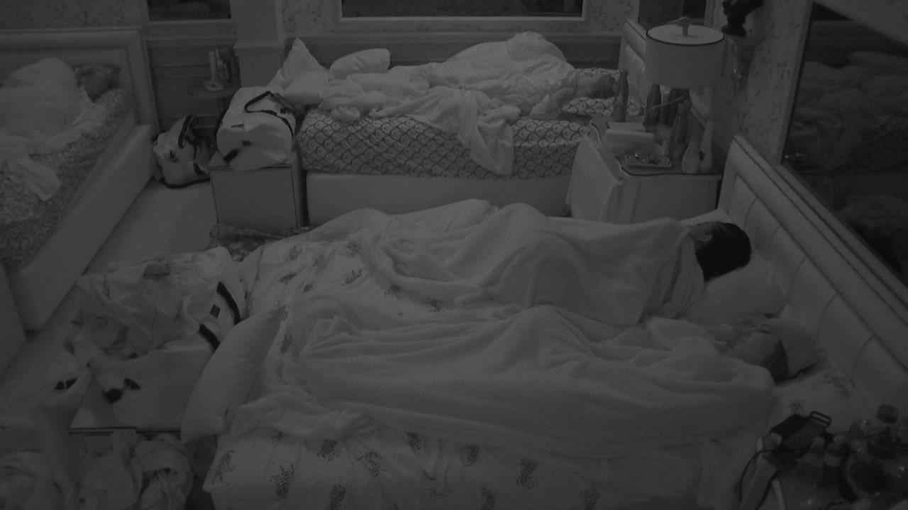 Após madrugada intensa, todos dormem no BBB21