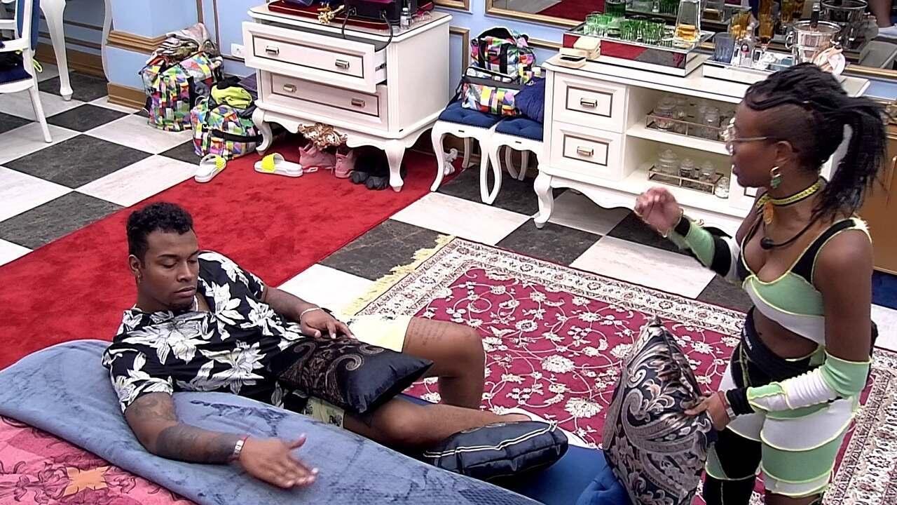 Nego Di fala sobre sister: 'Ela chegou na cozinha e disse que estava dando em cima dela'