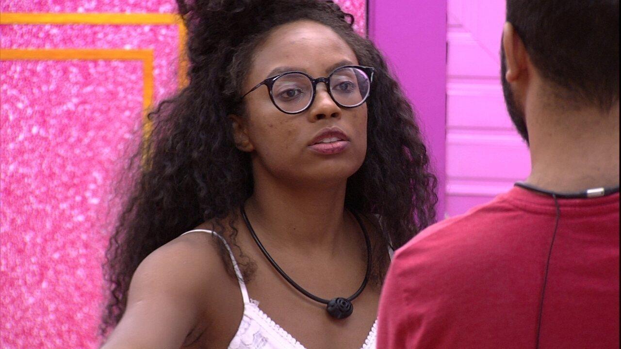 Lumena reclama de Carla Diaz após Jogo da Discórdia: 'Não é um jogo sobre compaixão'