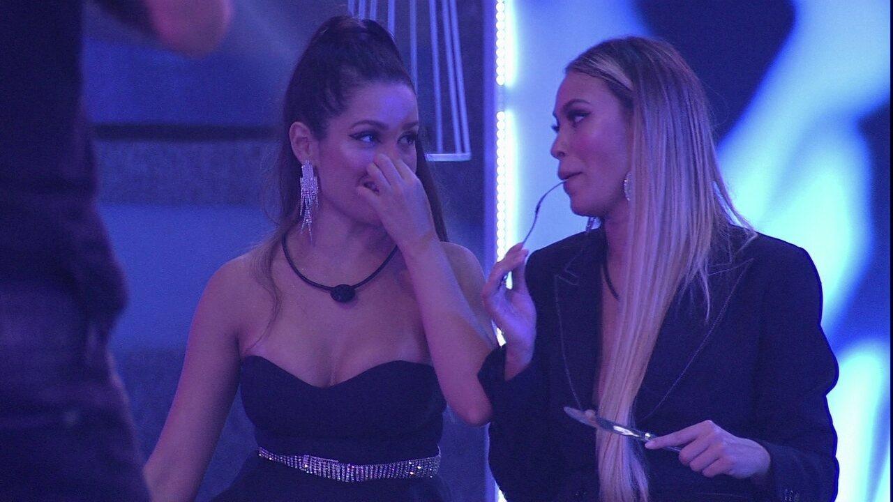 Juliette e Sarah avaliam aproximação entre brother e sister: 'Está feio'
