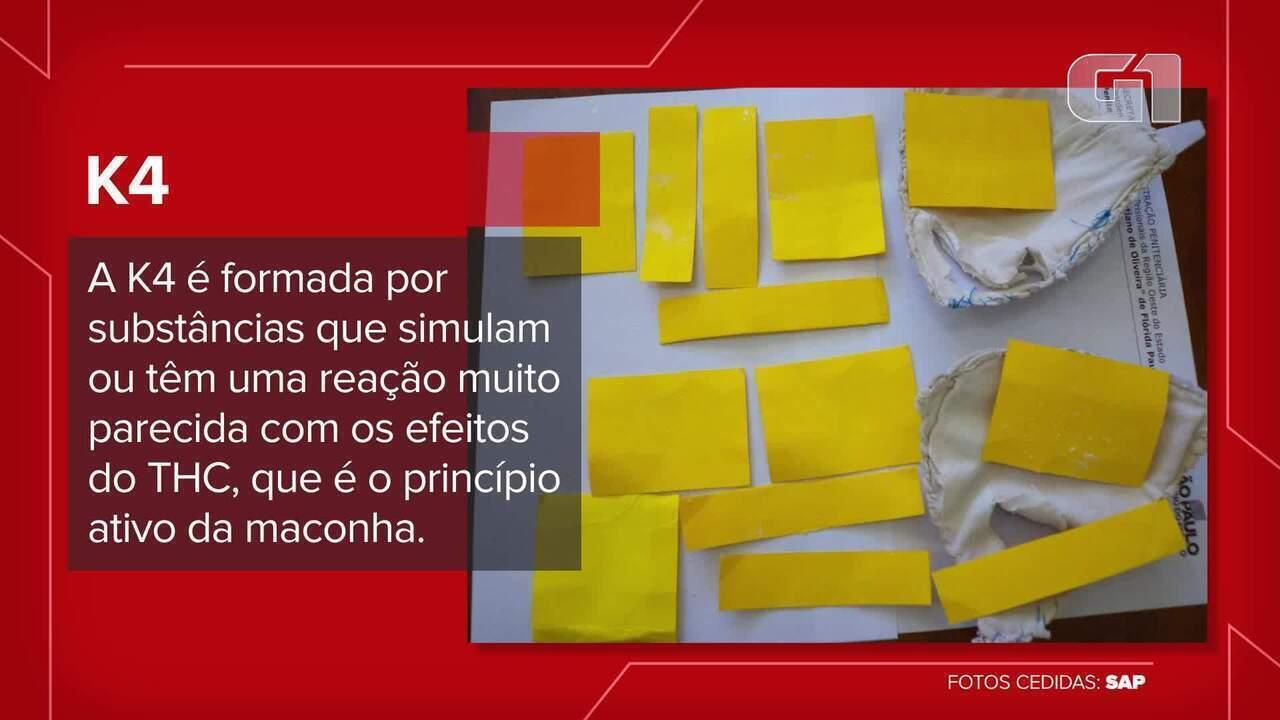 K4 é levada em pedaços de papel para penitenciárias do Oeste Paulista