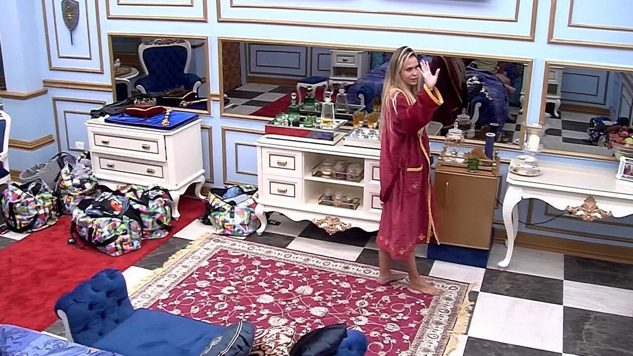 Sarah sobre indicação para Paredão do BBB21: 'Pensando seriamente em mandar o Projota'