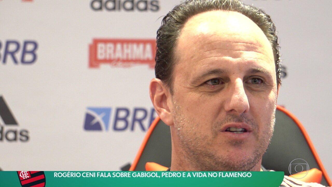 Rogério Ceni fala sobre Gabigol, Pedro e a vida no Flamengo