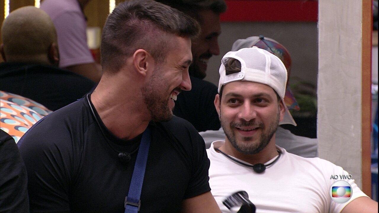Brothers formam duplas para participar da quinta Prova do Líder