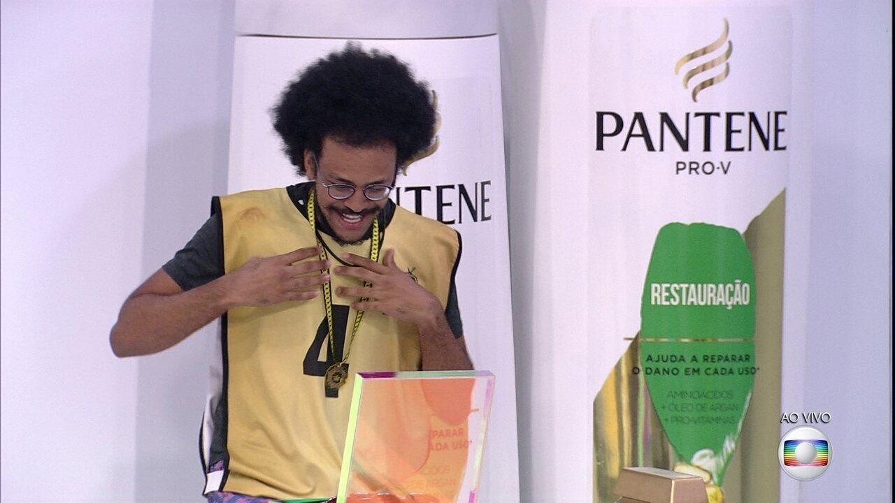 João Luiz vence a quinta Prova do Líder no BBB21