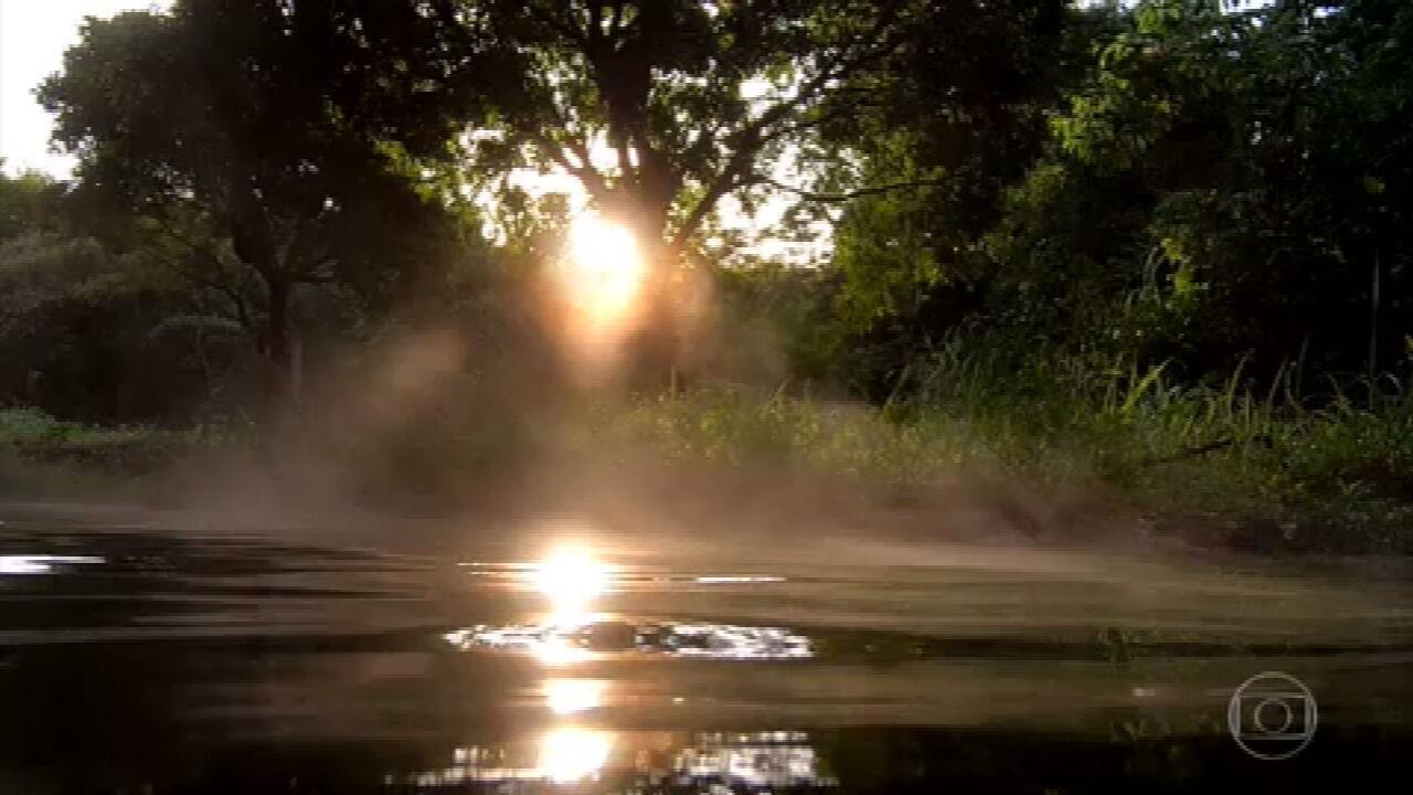 Cerrado tem o maior manancial de água quente do mundo, a Serra de Caldas