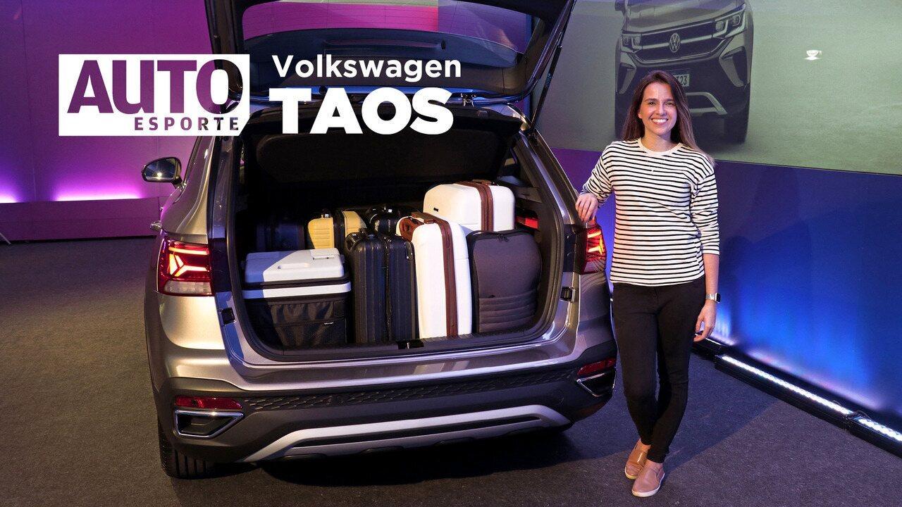 VW Taos: faixa de preço, dimensões e os principais detalhes do interior do novo SUV