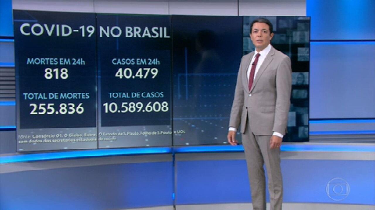 Brasil registra recorde na média de mortes por Covid pelo terceiro dia seguido