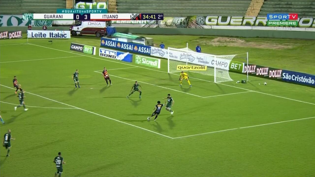 Melhores momentos: Guarani 0x3 Ituano pela primeira rodada do Paulistão 2021