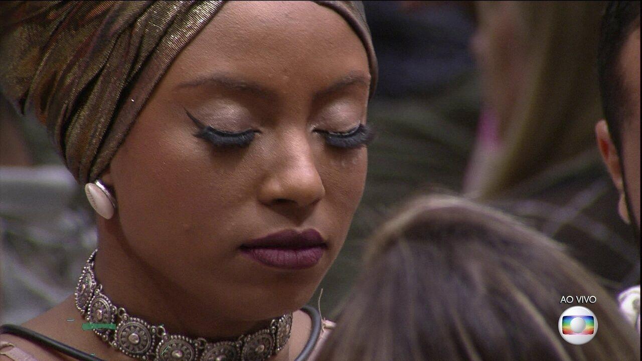 Lumena é eliminada no quinto Paredão da casa do BBB21