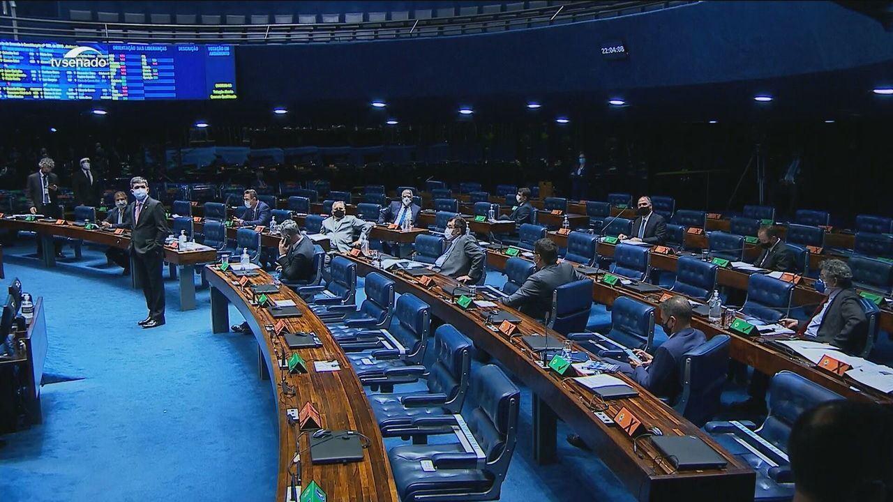 Senadores aprovam em 1º turno texto-base da PEC emergencial