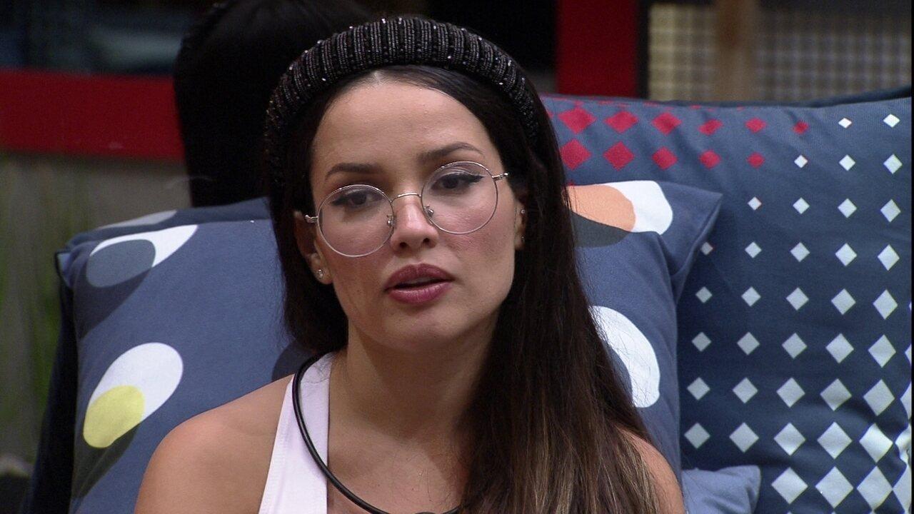 Juliette afirma que brothers a subestimam no BBB21: 'Estou assistindo de camarote'