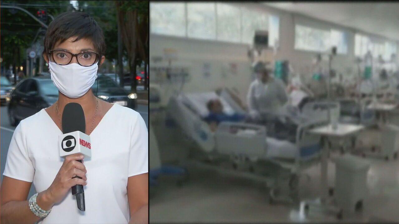 SP retorna à fase vermelha e governo anuncia volta de hospital de campanha