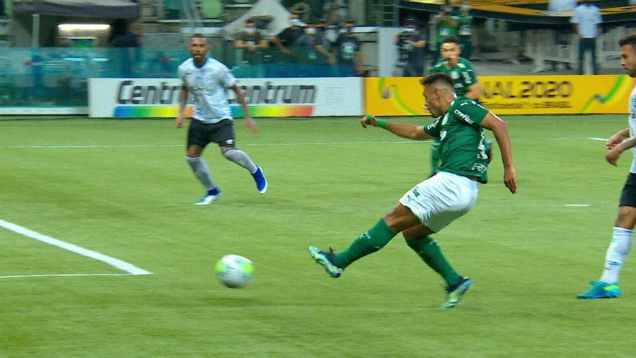 Os gols de Palmeiras 2 x 0 Grêmio pela final da Copa do Brasil 2020
