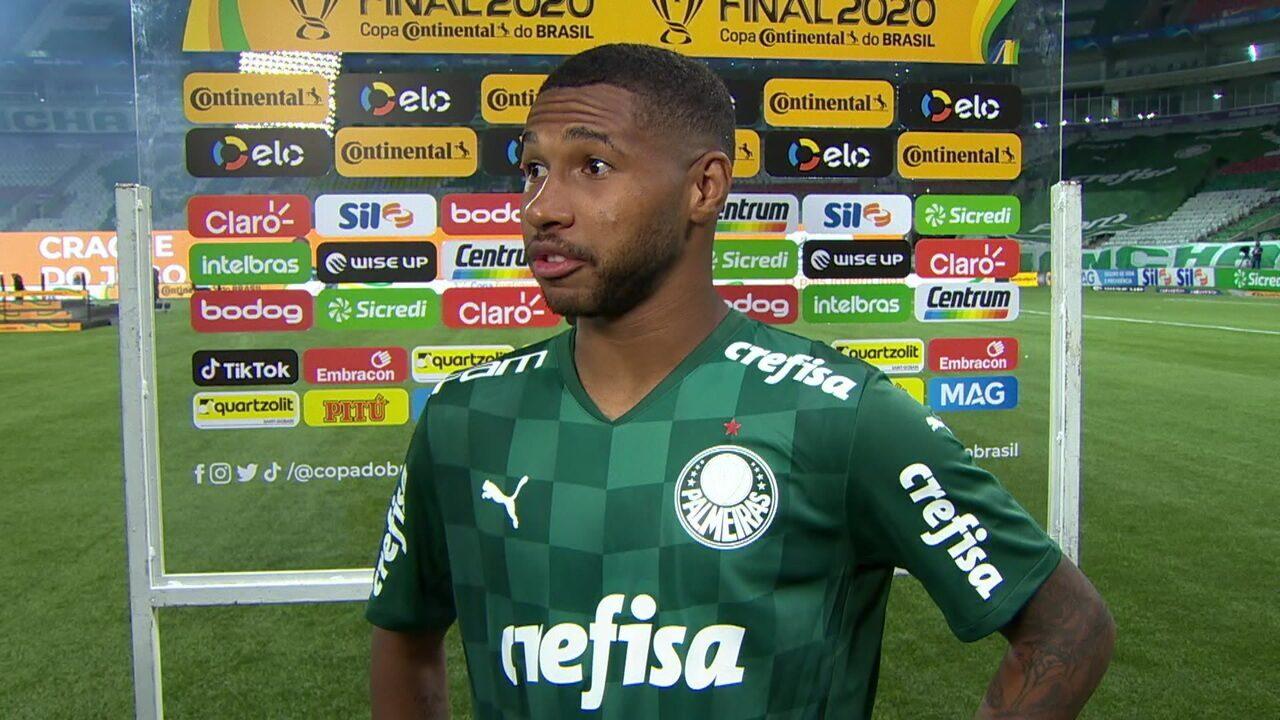 Wesley faz desabafo após período lesionado e volta com gol na final