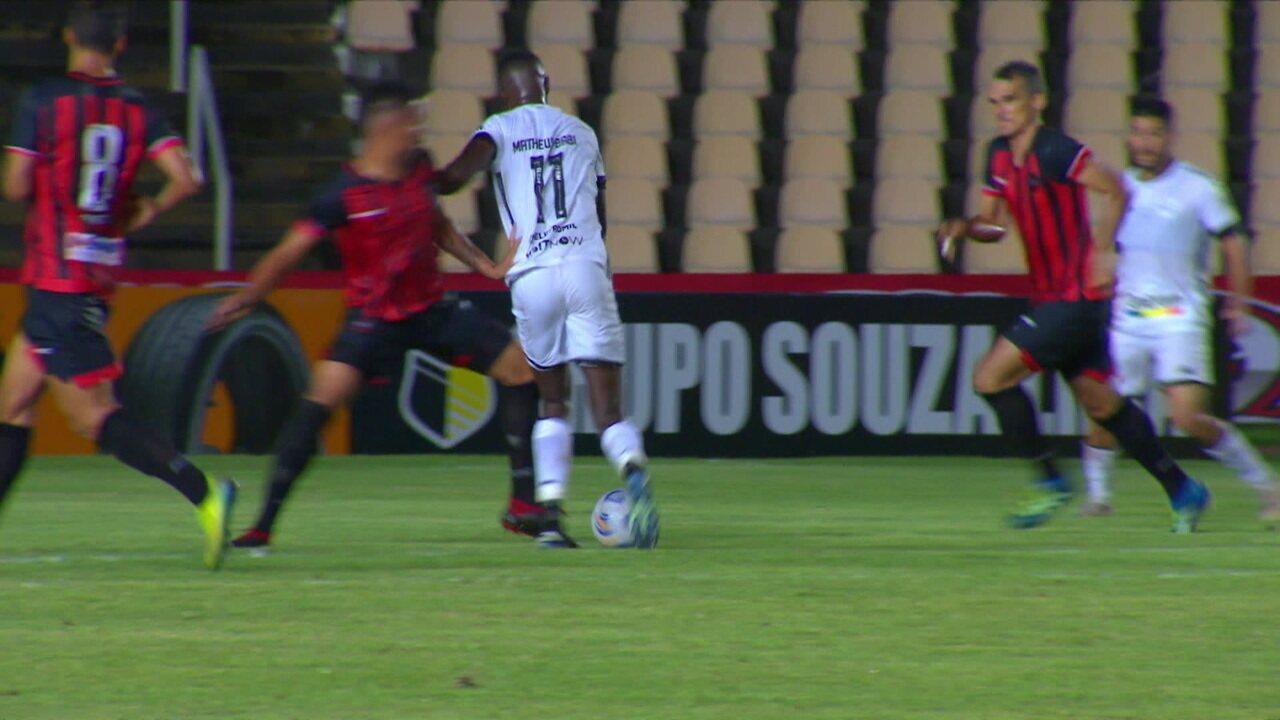 Renata Silveira narra a goleada do Botafogo sobre o Moto Club