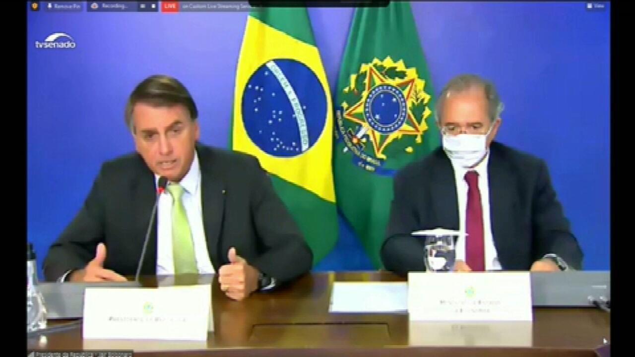 Bolsonaro diz que toque de recolher no DF é 'Estado de Sítio'