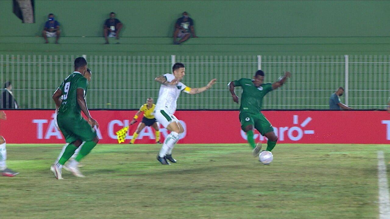 Melhores momentos: Boavista 3 x 1 Goiás pela primeira fase da Copa do Brasil